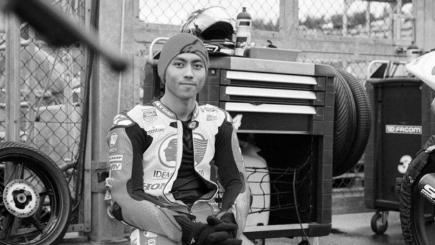 Dvacetiletý indonéský jezdec Afridza Munandar.