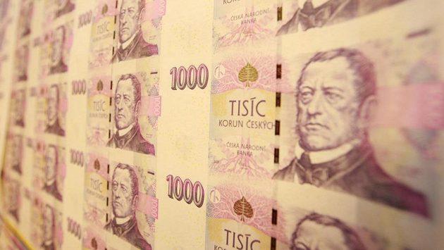 Bankovky na ilustračním snímku.