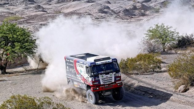 Martin Kolomý během Rallye Dakar