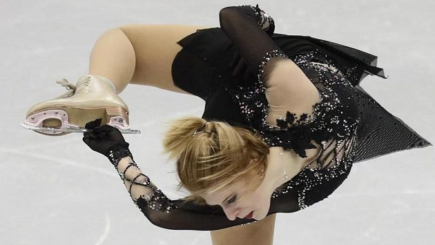 Eliška Březinová na evropském šampionátu v Minsku.