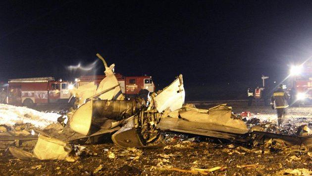Letecké neštěstí v Kazani.