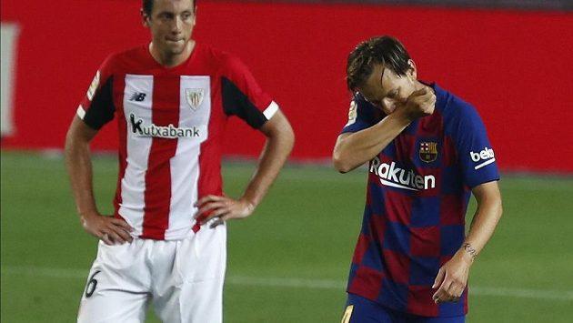 Barcelonský spasitel se jmenuje Ivan Rakitič. Svému týmu vystřelil tři body za výhru 1:0 nad týmem Athletic Bilbao.