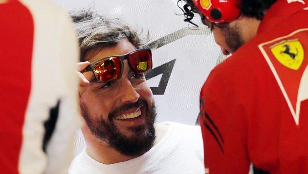 Španělský pilot F1 Fernando Alonso