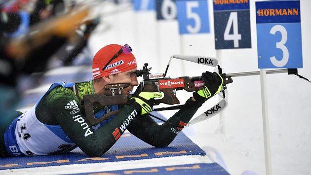 Německý biatlonista Arnd Peiffer se stal podruhé v kariéře individuálním mistrem světa.