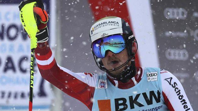 Rakušan Manuel Feller vyhrál slalom Světového poháru ve Flachau.