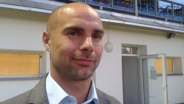 Sportovní ředitel Slovanu Jan Nezmar.