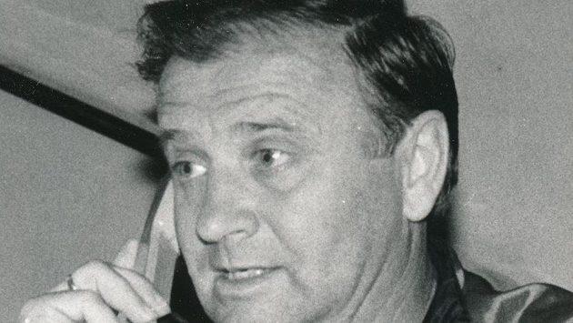 Jozef Vengloš, bývalý československý fotbalista, později trenér.