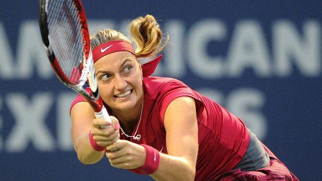 Česká tenistka Petra Kvitová zahájí US Open proti Francouzce Mladenovicové.