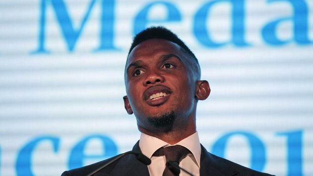 Kamerunský fotbalista Samuel Eto´o Soccer byl oceněn za boj proti rasismu.