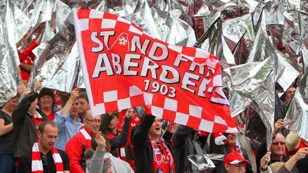 Krvavou předehru mělo pro fanoušky skotského Aberdeenu utkání Evropské ligy (ilustrační foto).