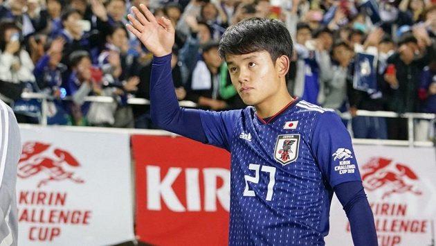 Nadějný japonský fotbalista Takefusa Kubo.