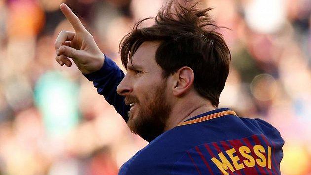 Lionel Messi slaví. Naposledy měl tři důvody.