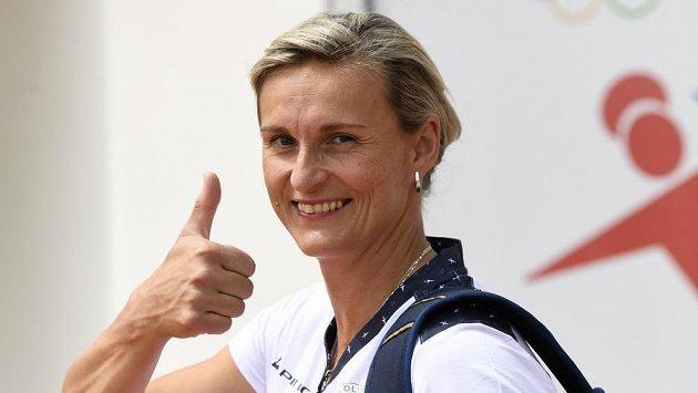 Oštěpařka Barbora Špotáková na své páté olympiádě.