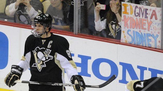 Kapitán Pittsburghu Sidney Crosby se do sestavy týmu vrátil po měsíční pauze
