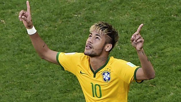 Brazilský tahoun Neymar.