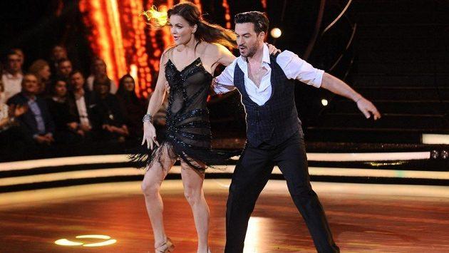 Agnieszka Radwaňská se dala na tancování.