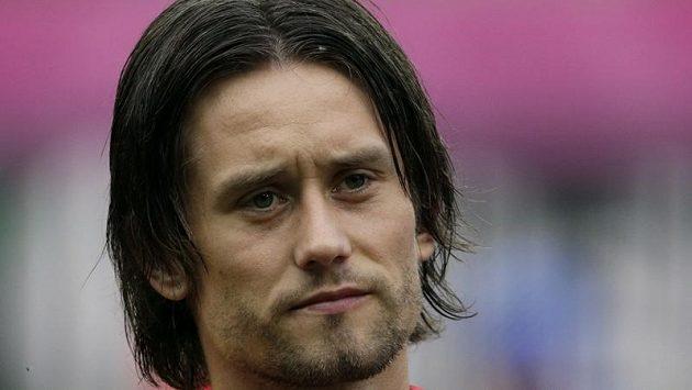 Kapitán české reprezentace Tomáš Rosický.