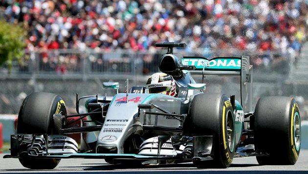 Britský jezdec Lewis Hamilton ze stáje Mercedes ovládl kvalifikaci na Velkou cenu Kanady.