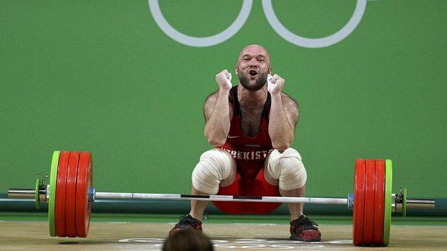 Uzbek Nurudinov prožívá v Riu vítěznou euforii.