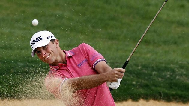 Americký golfista Luke Guthrie
