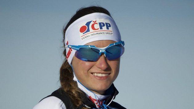 Běžkyně na lyžích Petra Nováková.