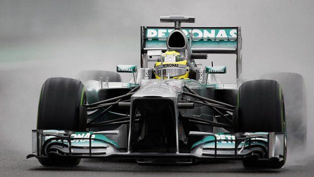 Pilot mercedesu Nico Rosberg.