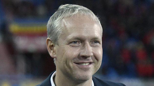 Trenér Sparty Václav Jílek.