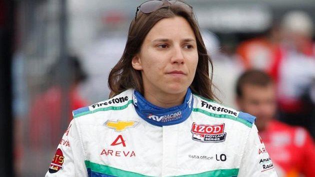 Švýcarská pilotka Simona de Silvestrová.
