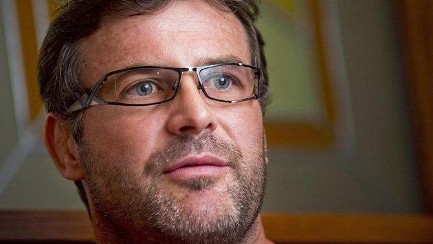 Trenér české judistické reprezentace Petr Lacina.