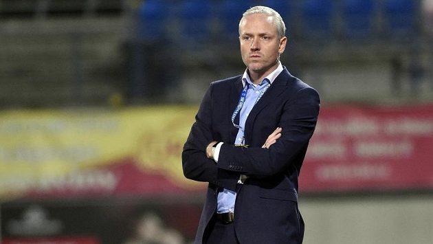 Trenér Olomouce Václav Jílek.