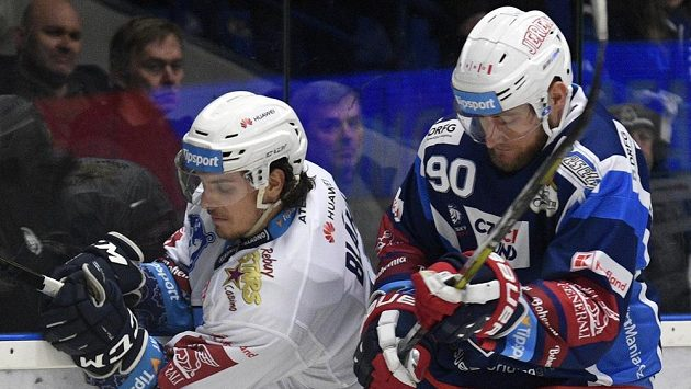Martin Dočekal (vpravo) odchází z Komety do Vítkovic.