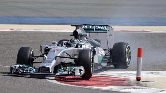 Britský pilot stáje McLaren Jenson Button.