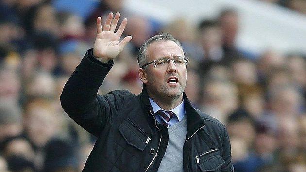 Paul Lambert ještě jako trenér Aston Villy.