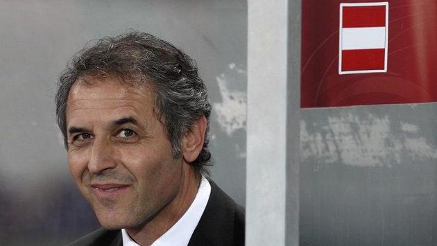 Trenér rakouských fotbalistů Marcel Koller.