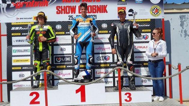 Motocyklový jezdec Oliver König vyhrál závody na chorvatském okruhu Grobnik v rámci šampionátu Alpe Adria.