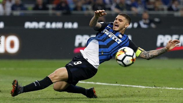 Mauro Icardi z Interu Milán