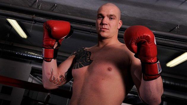 Český boxer Ondřej Pála.