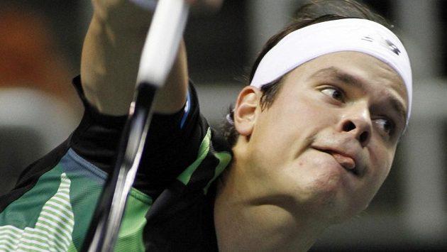 Kanadský tenista Milos Raonic.