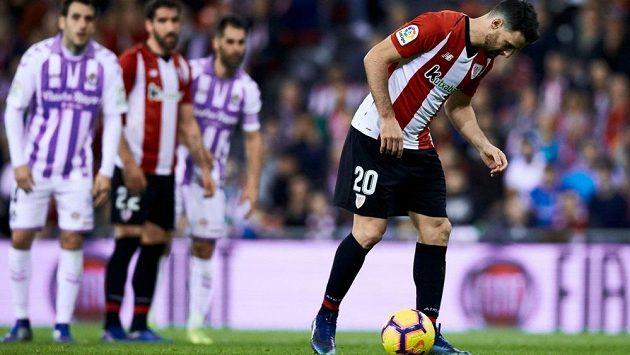 Aritz Aduriz z Bilbaa a jeho senzační penalta ve španělské lize.