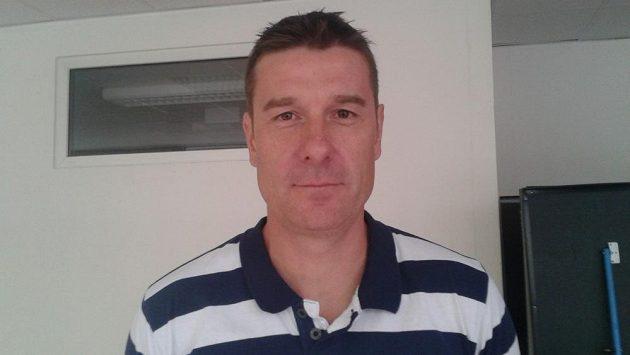 Kouč volejbalové Dukly Liberec Michal Nekola.