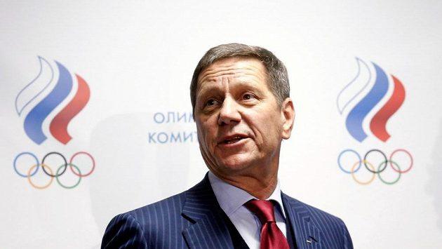 Nynější šéf Ruského olympijského výboru Alexandr Žukov.