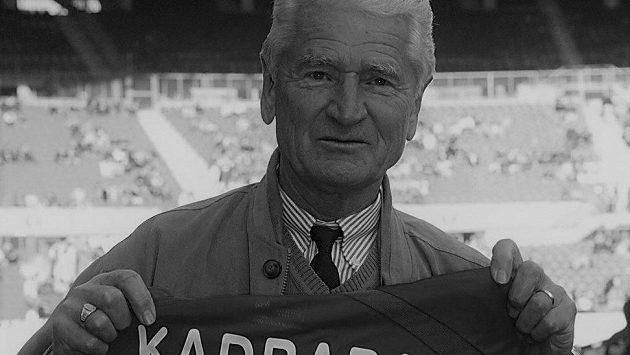 Ve věku 85 let dnes zemřel fotbalový útočník Josef Kadraba
