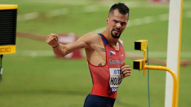 Jakub Holuša na loňském mistrovství světa v Dauhá.