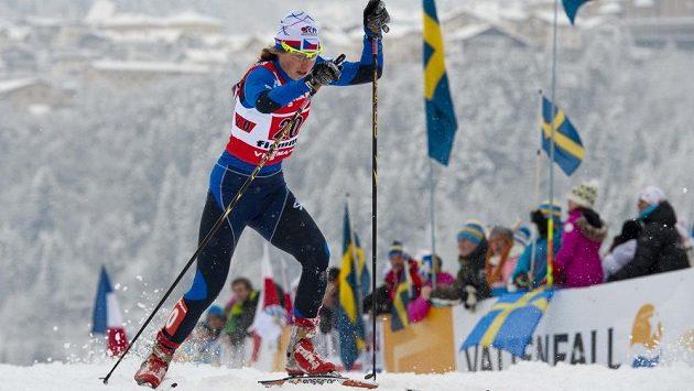 Česká běžkyně na lyžích Petra Nováková