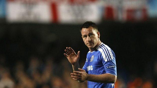 John Terry zápas s Benfikou v LM nedohrál