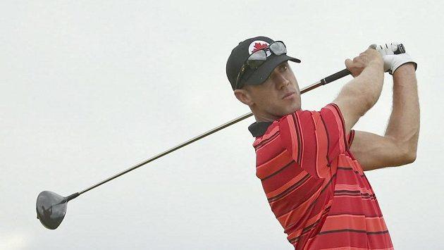 Kanadský golfista Graham DeLaet.