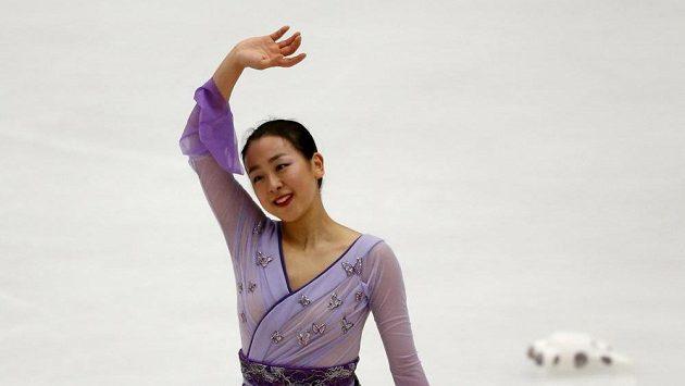 Mao Asadaová z Japonska při Čínském poháru.