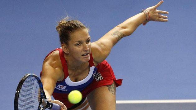 Tenistka Karolína Plíšková je bez trenéra.