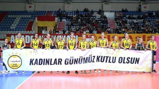 Volejbalistky Vakifbanku Istanbul dnes sehrají derby se svým největším rivalem.