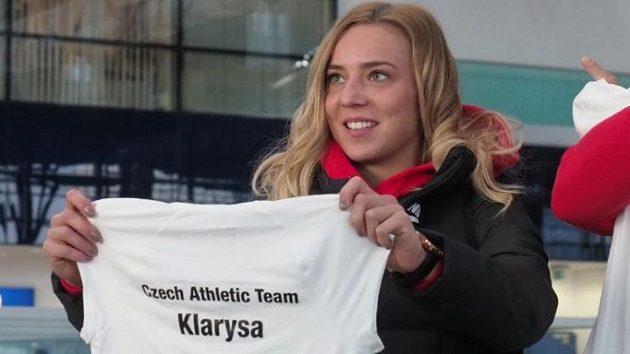 Sprinterka Klára Seidlová vyrazila stejně jako ostatní atleti do Birminghamu vybavena i dresem s přezdívkou.